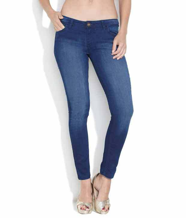 745bcc97f64c0 Buy Jealous 21 Medium Blue Super Skinny Jeans Online at Best Prices in  India - Snapdeal