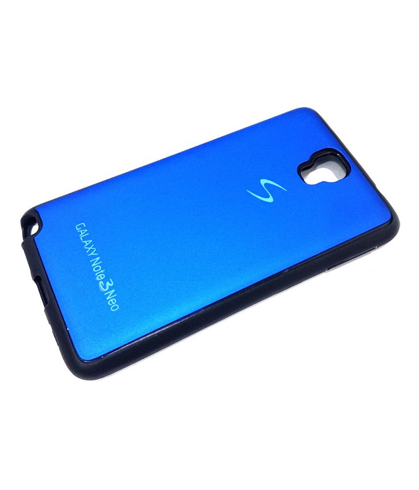 check out c1b5b 1773d M-KIT Fancy Soft Back Case Cover for Samsung Galaxy Note 3 Neo - Blue