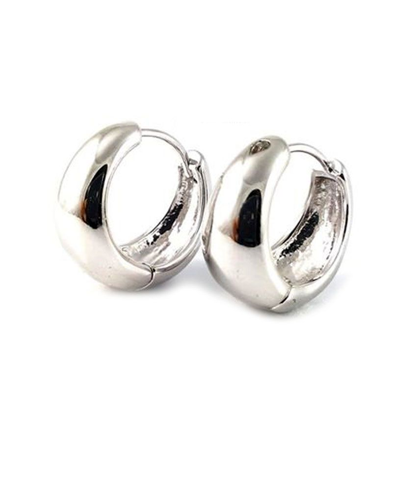 Online Get Cheap Silver Mens Earrings Aliexpress Alibaba Group Source ·  Ammvi Creations Bollywood Style Elegant Polished Surgical Steel