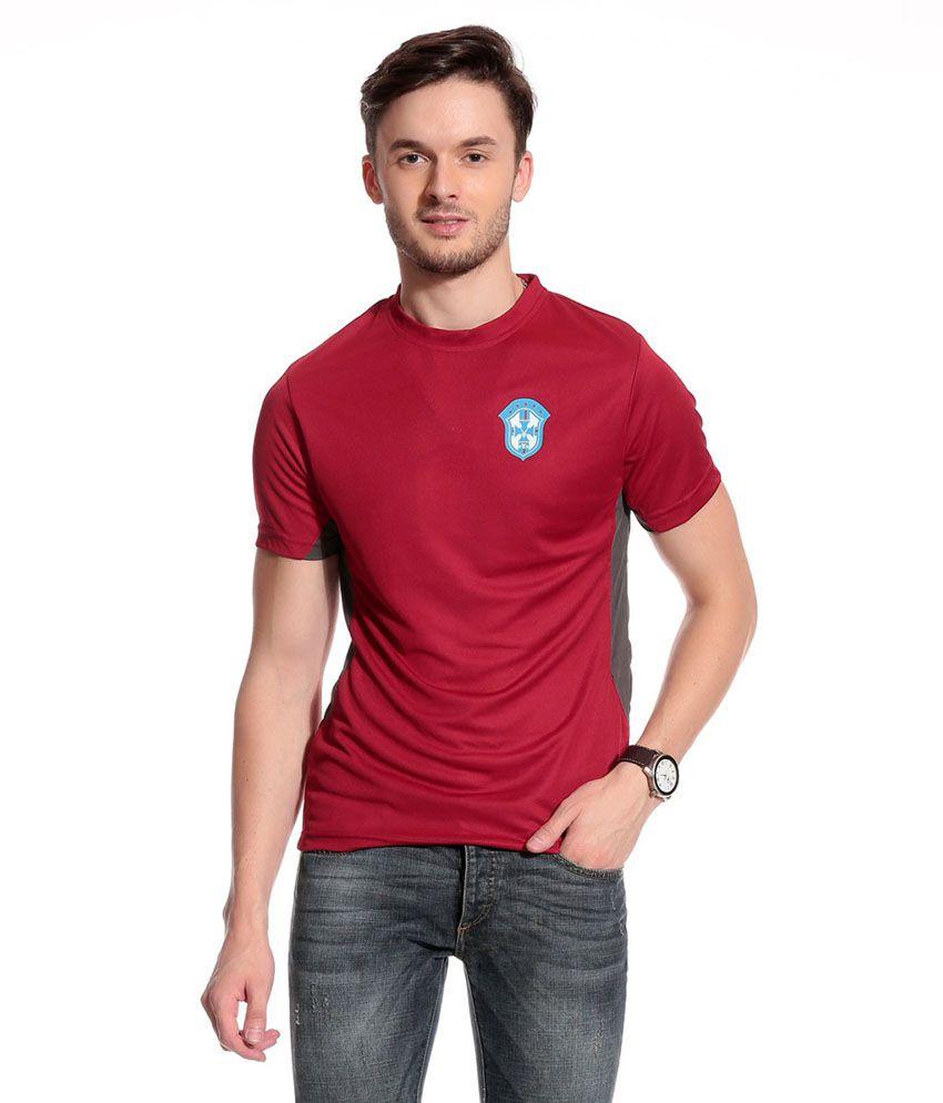Club York Maroon T-shirt