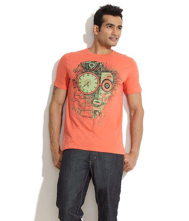 Colt Red Clock Face Off T-Shirt