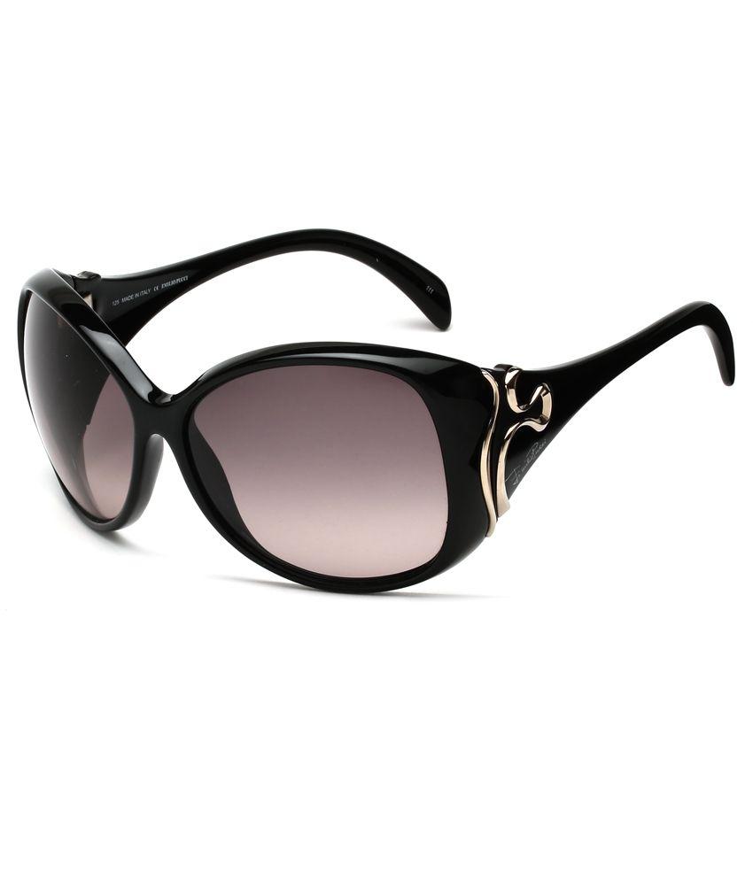 Emilio Pucci EP-699-001-62-S Warm Grey Pink Graded Nylon Lense Sunglasses