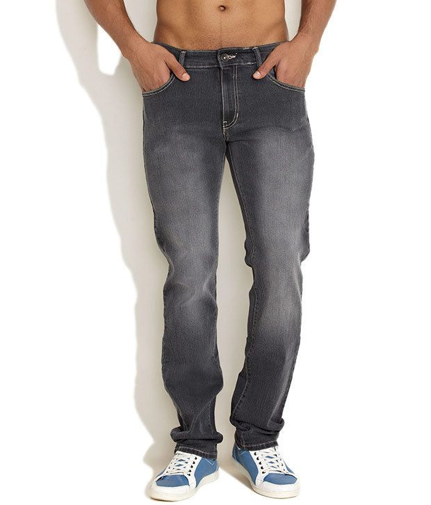Newport Black Casual Everyday Jeans