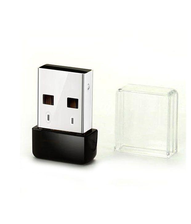 Wayona 150 Mbps Nano WiFi USB Wireless Adaptor (Black)