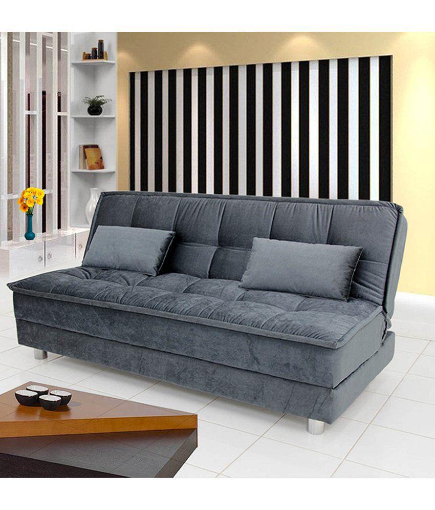Luxurious Sofa Cum Bed - Grey - Buy Luxurious Sofa Cum Bed ...
