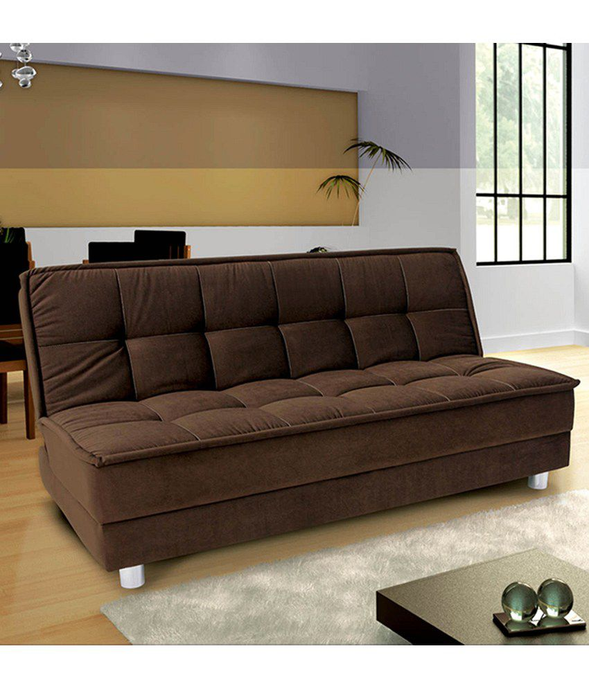 Furny luxurious sofa cum bed buy furny luxurious sofa for Sofa bed india