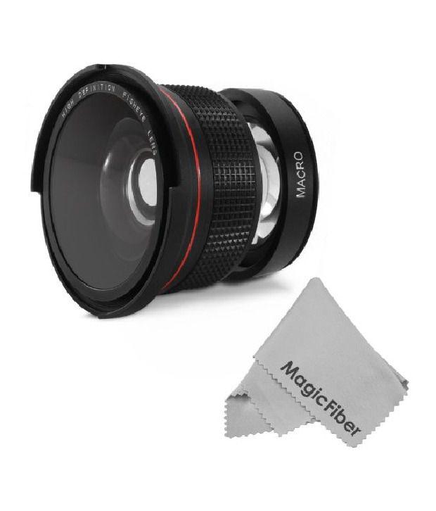 Altura Photo 58mm 0.35x Professional Super Fisheye Wide Angle Lens