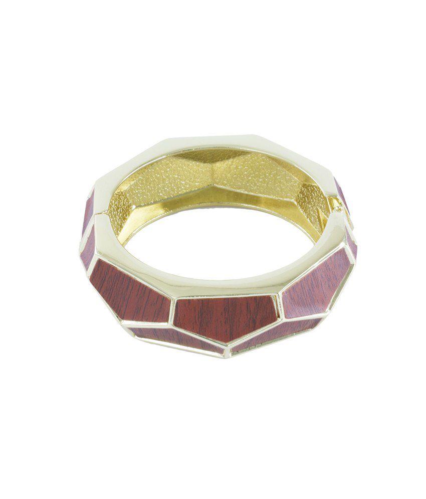 Bg's Golden & Brown Style Diva Bracelet