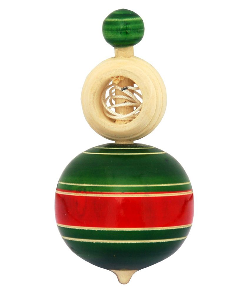 Villcart Wooden Top Toy