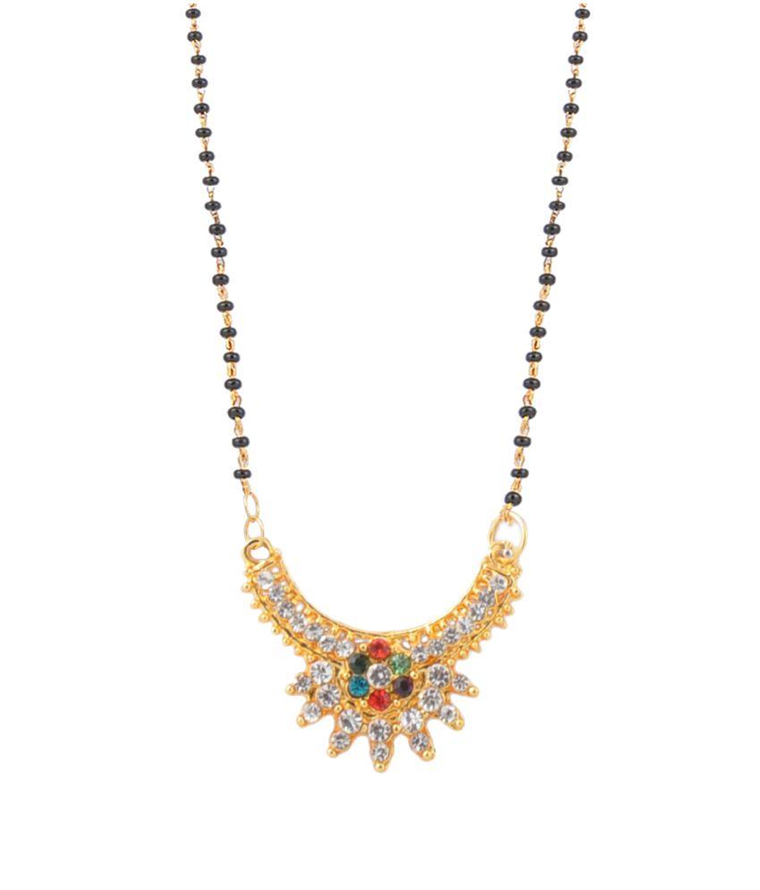 Ethnic Jewels Fascinating Mayur Mangalsutra