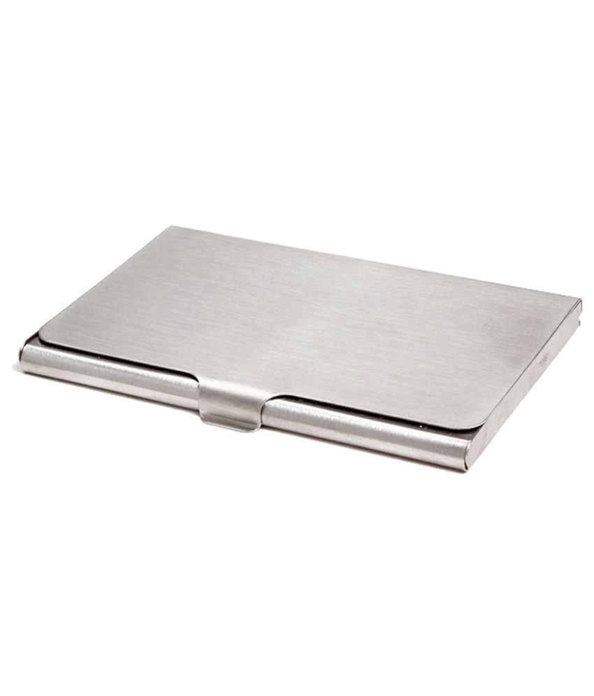 Excelencia stainless steel visiting card holder buy online at low excelencia stainless steel visiting card holder reheart Gallery