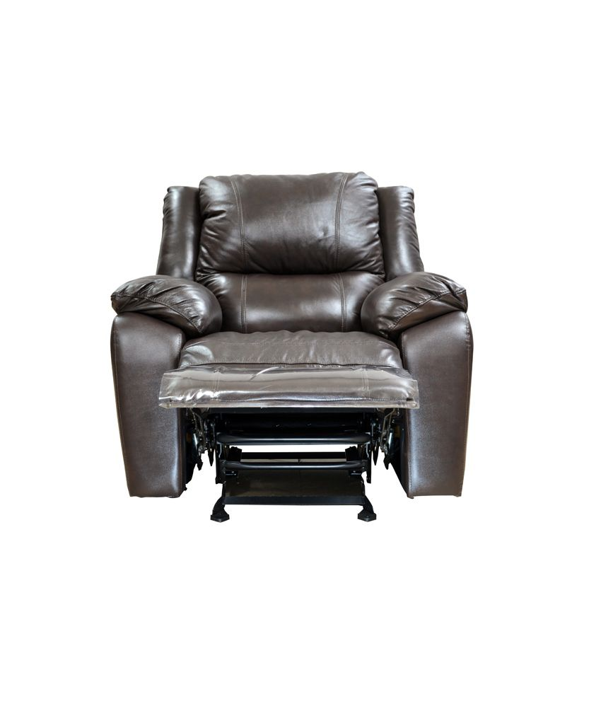 Hometown Alexander Half Leather Recliner 3 2 1 Sofa Set