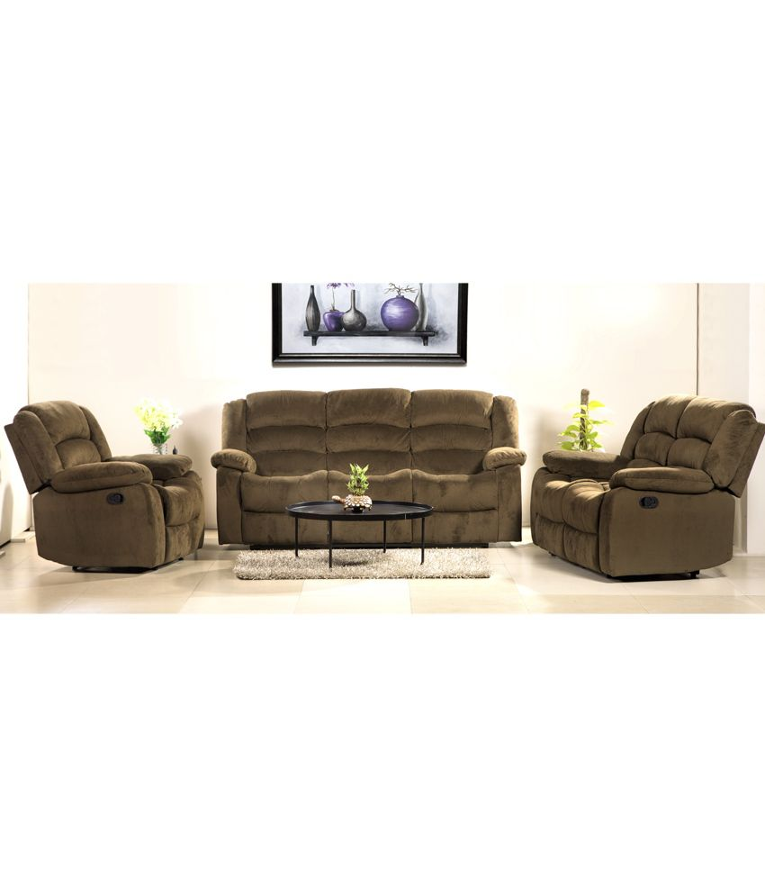 hometown cove fabric 3 2 1 sofa set buy hometown cove fabric 3 2 1 sofa set online at best. Black Bedroom Furniture Sets. Home Design Ideas