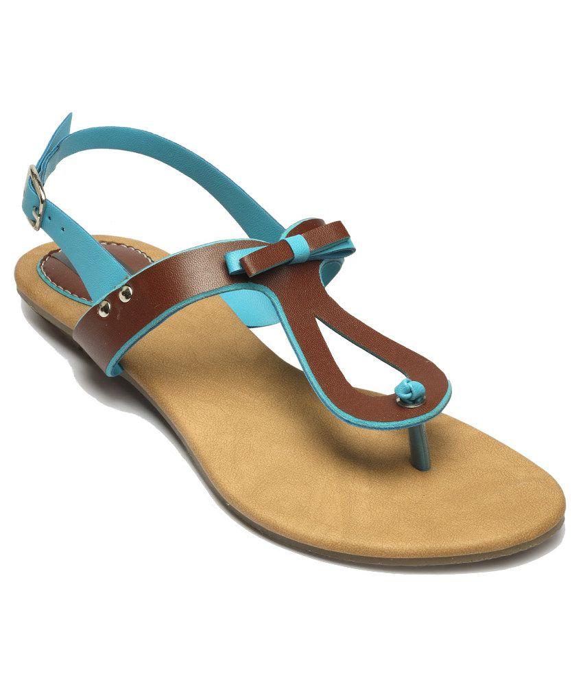 Nell Blue Sandal