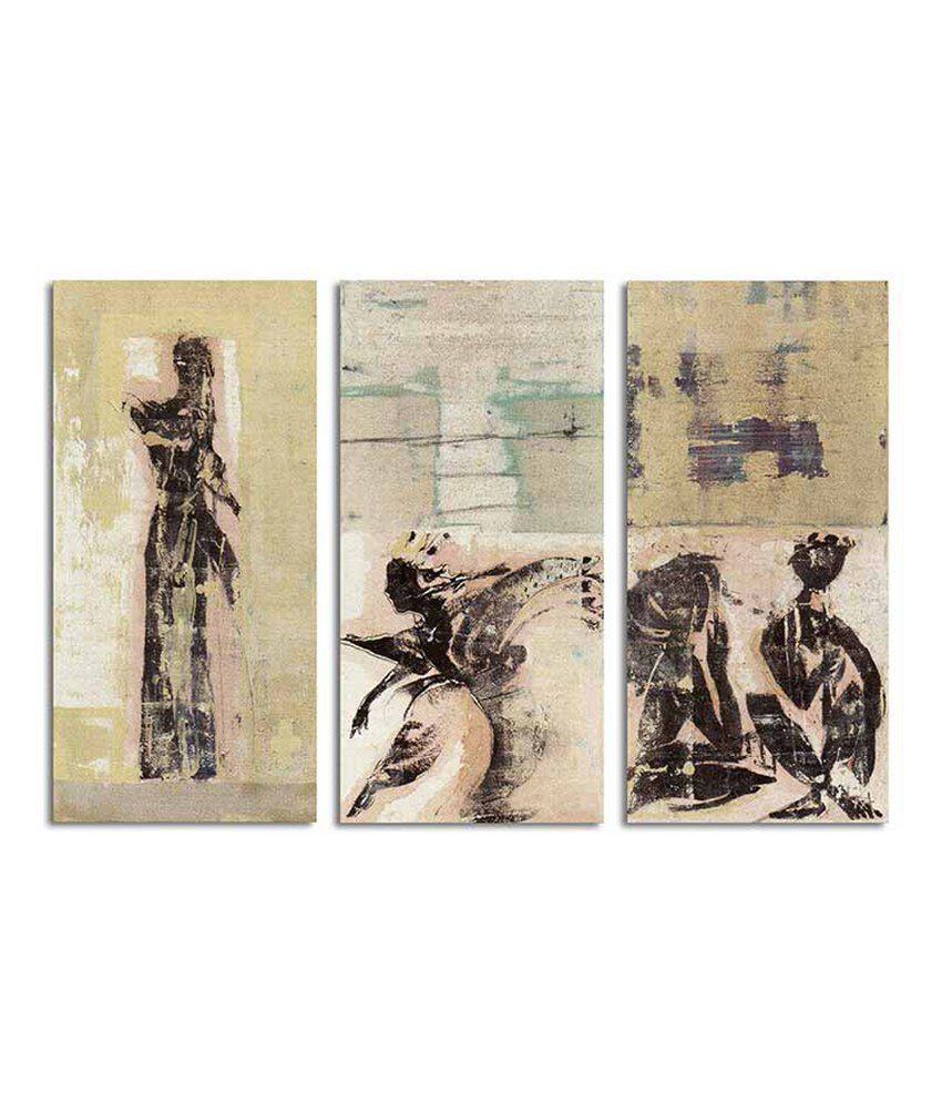 Painting Mantra Figurative Split Canvas Art Set