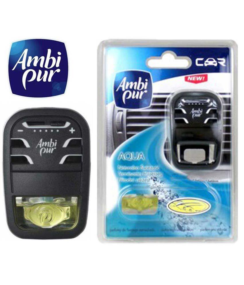 Car Starter App >> Ambi Pur Starter Pack Car Ac Vent Air Freshener Perfume Aqua: Buy Ambi Pur Starter Pack Car Ac ...