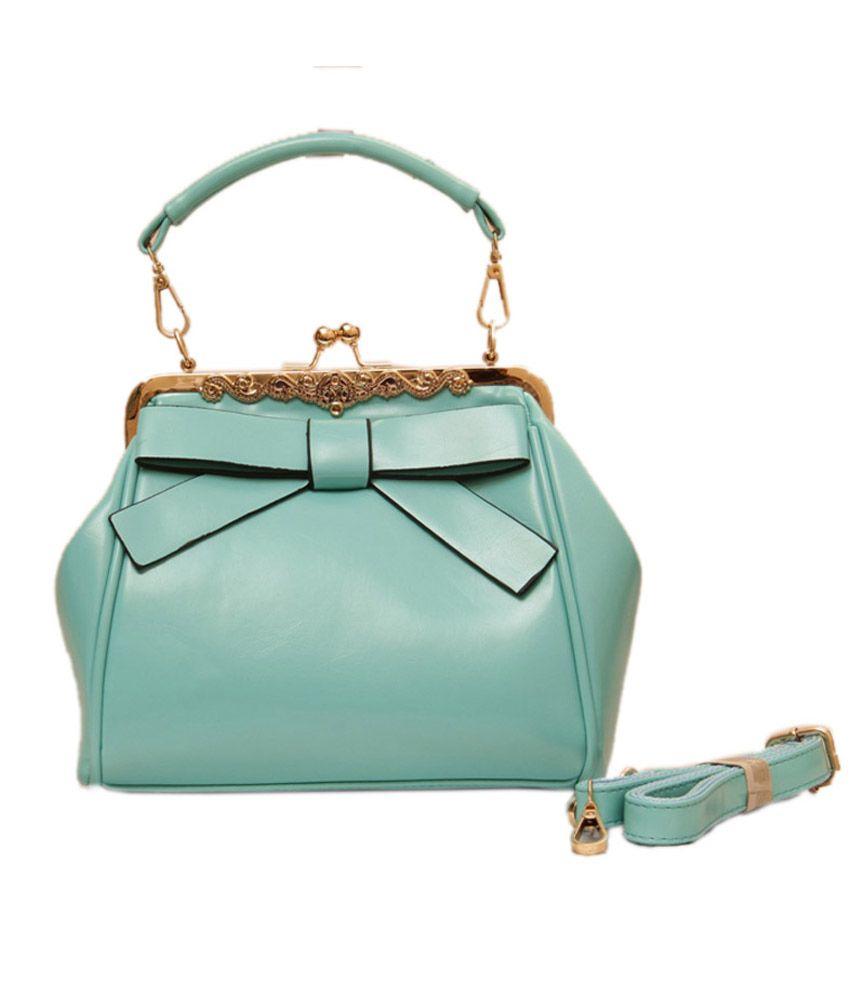 Brown & Bow Green Hand Bag