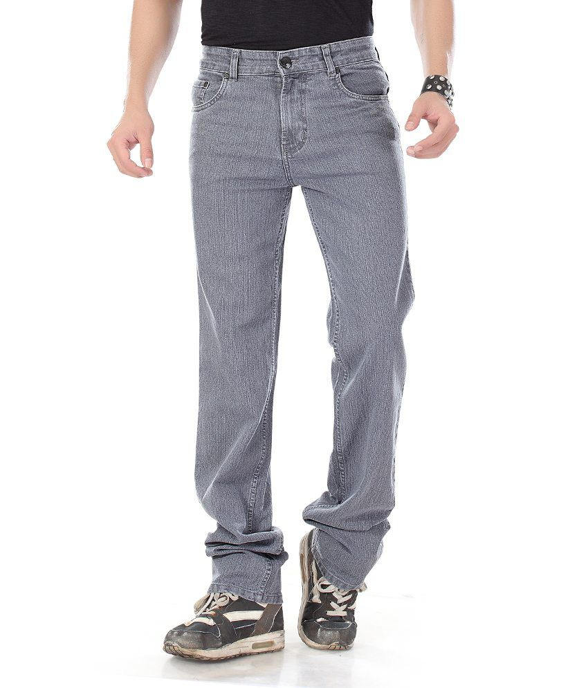 Dragaon Relax Fit Gray Jeans