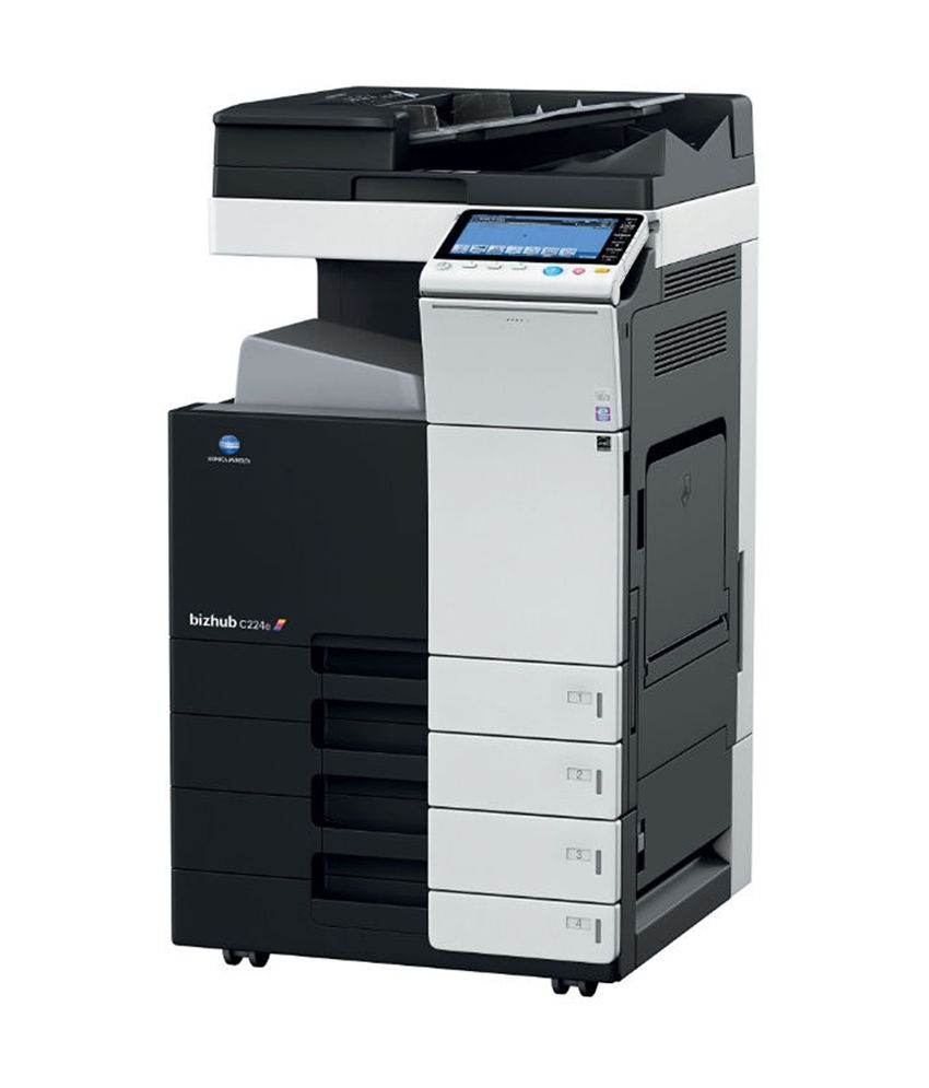 Konica Minolta Bizhub C754e Printer PCL6 Driver Download (2019)