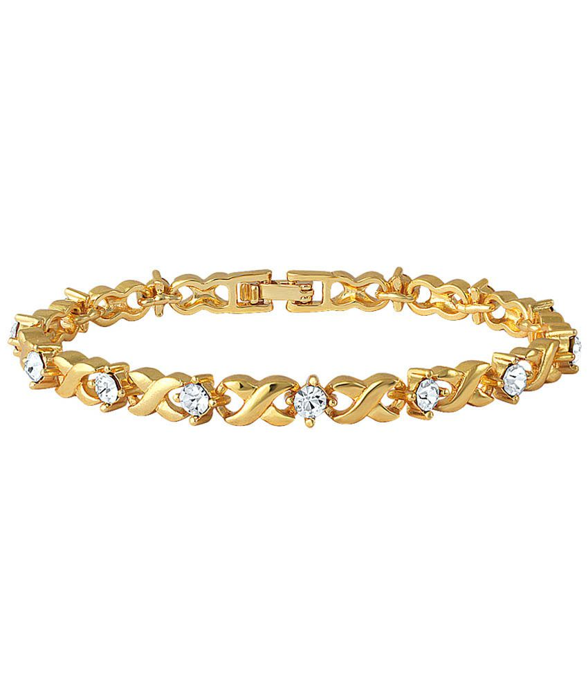 Golden Bracelet - In Rubber Bracelets