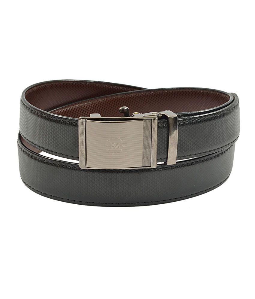 Royal Son Black Casual Single Belt For Men