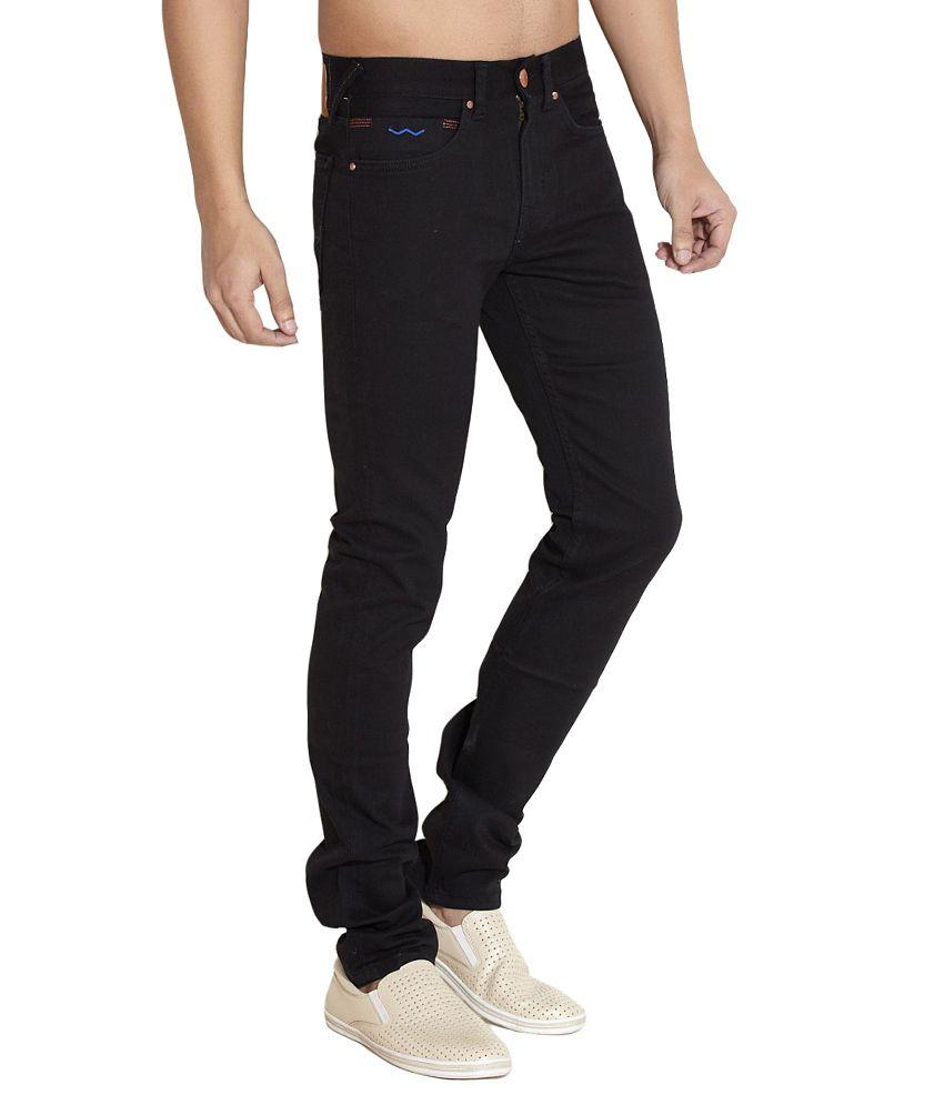 Web Jeans Black Regular Jeans
