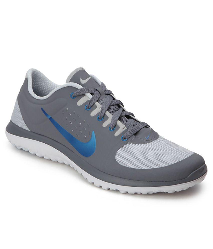 super popular 177ef 26afd Nike Fs Lite Run Gray Running Shoes