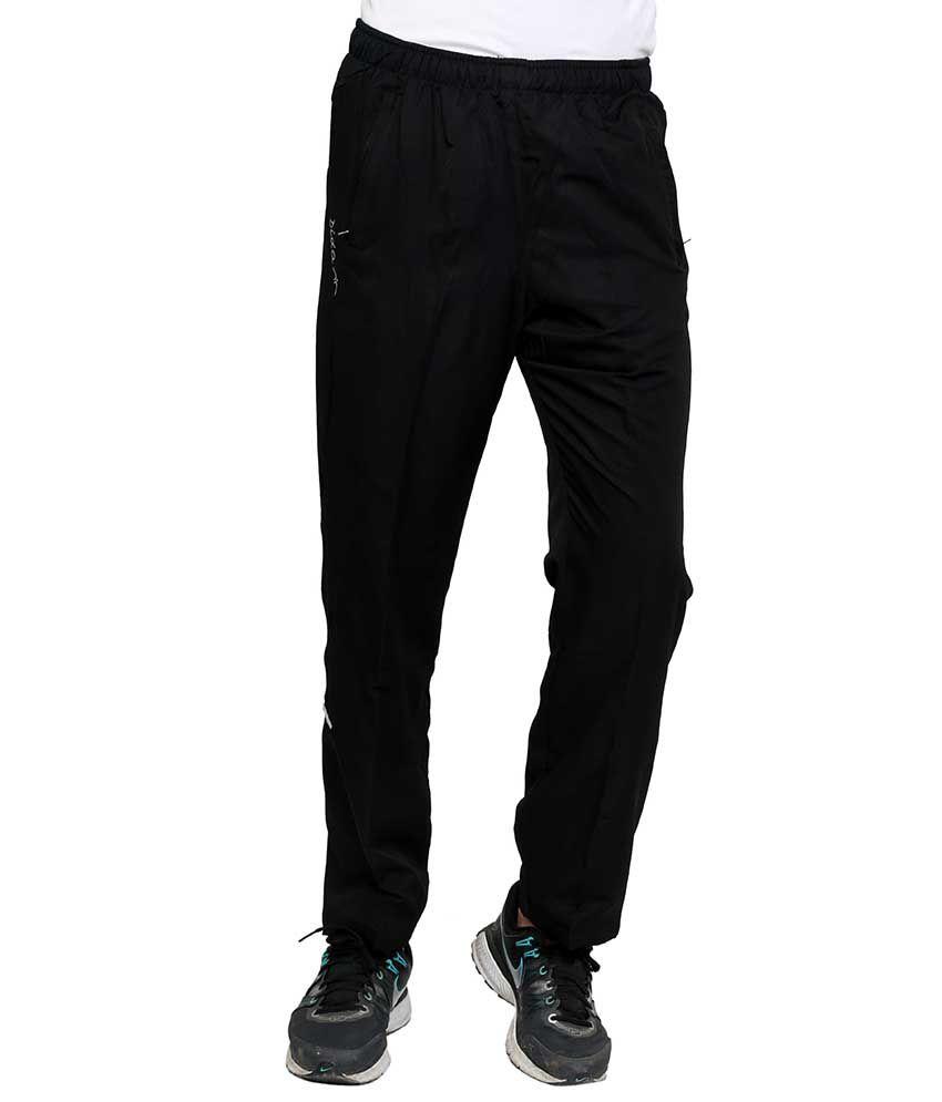 Dida  Black Polyester Trackpants