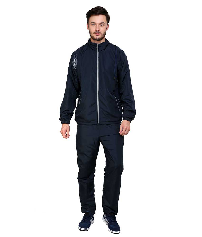 Dida  Navy Polyester Tracksuits