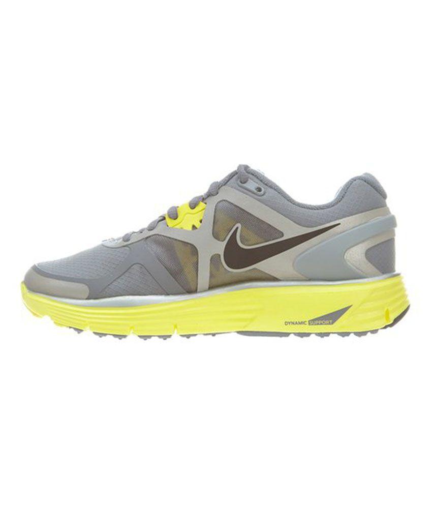 ede78a629deec Nike Lunarglide Women s Running Shoe - Gray And Yellow Price in ...