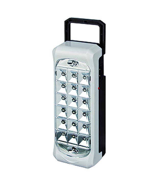 Dp White Plastic Brilliant Emergency Lights