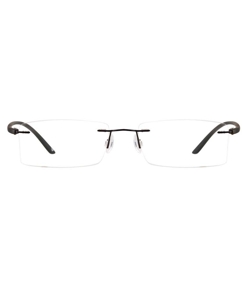 b0df113a90 Vincent Chase VC 1205 Rectangle Rimless Black Eyeglasses - Buy Vincent Chase  VC 1205 Rectangle Rimless Black Eyeglasses Online at Low Price - Snapdeal