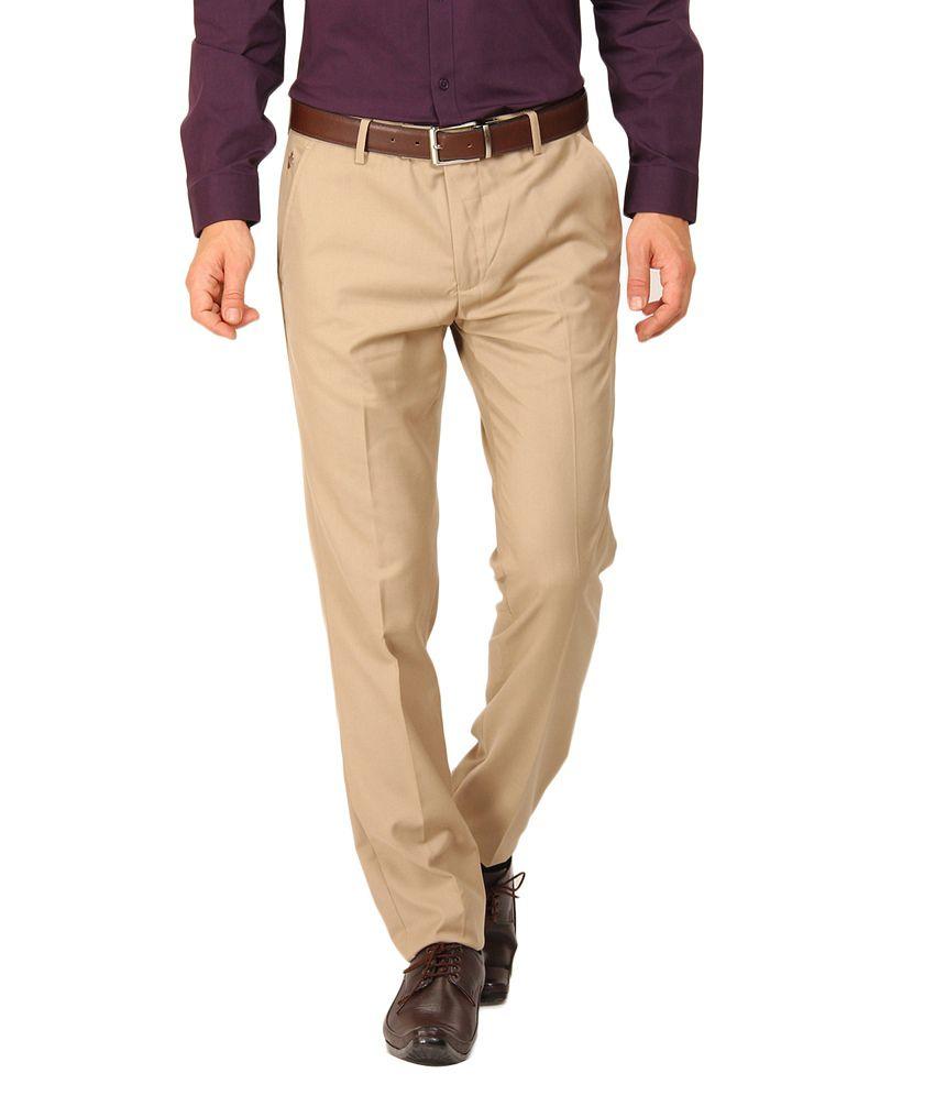 Black Coffee Woven Formal Trouser