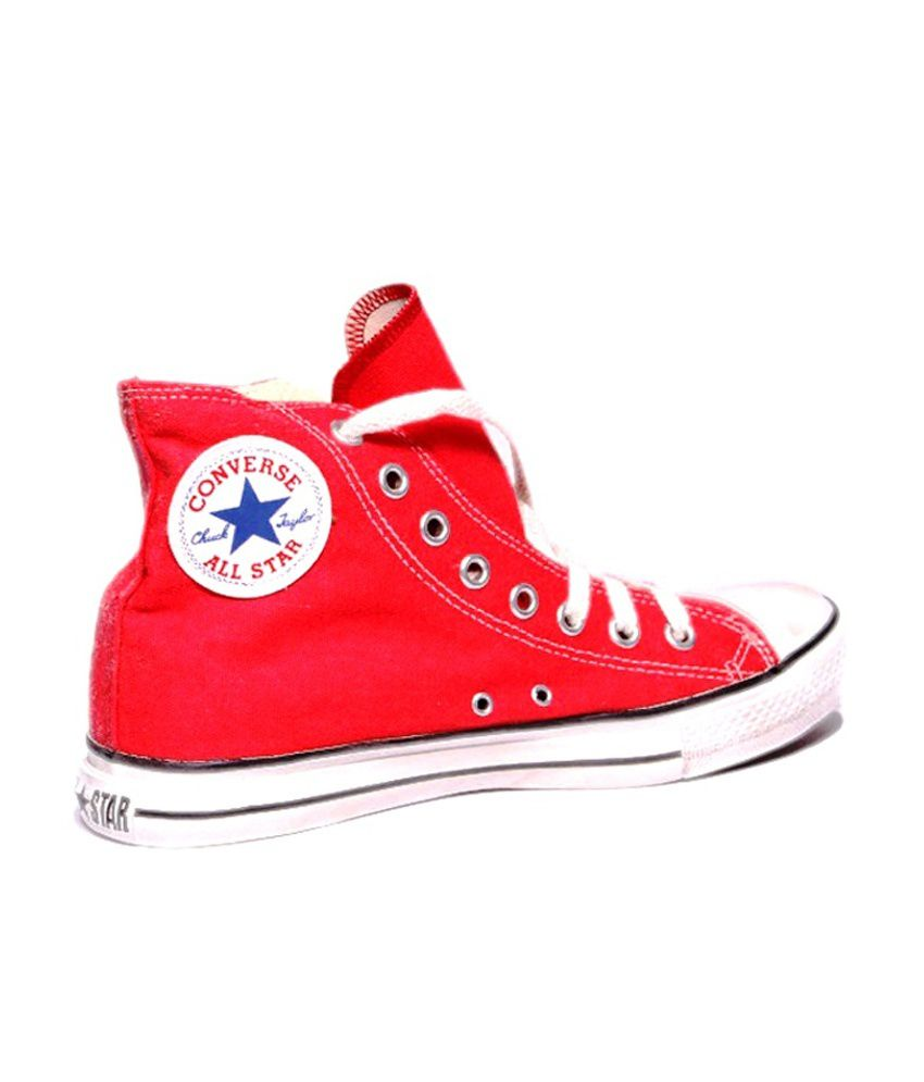 2ed980736bd5 Converse Red Canvas Shoes - Buy Converse Red Canvas Shoes Online at ...