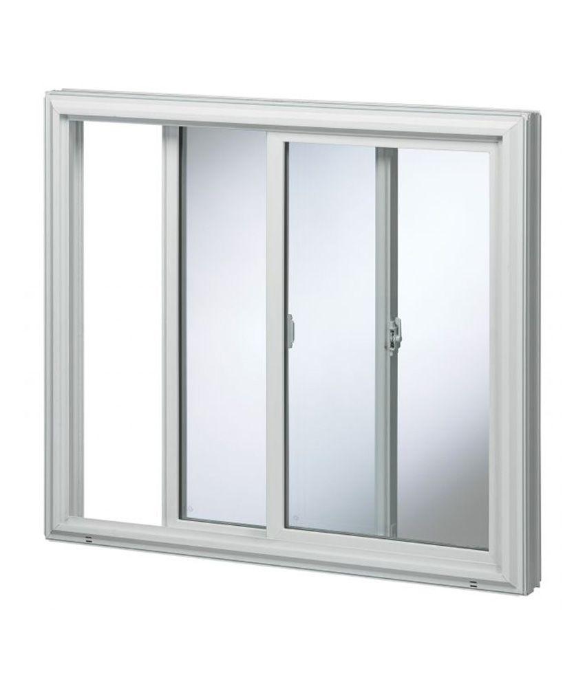 timeless design 54035 b77a2 Buy Skybryte White Upvc Sliding Window Online at Low Price ...