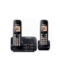 Panasonic Kxtg-3722 Cordless Landline Phone With Answering Machine