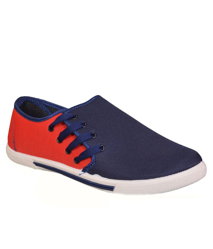 Acto Black-red Lifestyle Shoes