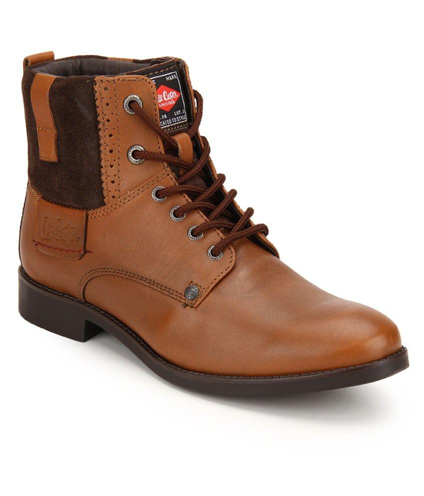 19a5c1765d4 Lee Cooper Tan Dress Boot - Buy Lee Cooper Tan Dress Boot Online at ...