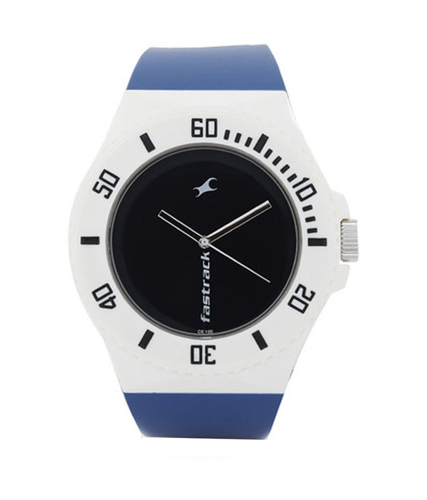 Fastrack Blue Analog Watch