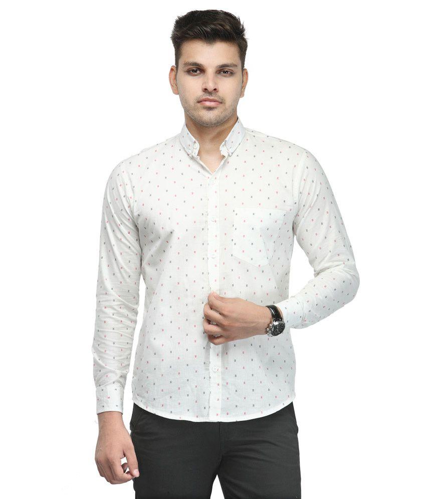 Phoenix haute couture white casuals shirt buy phoenix for Haute couture shirts