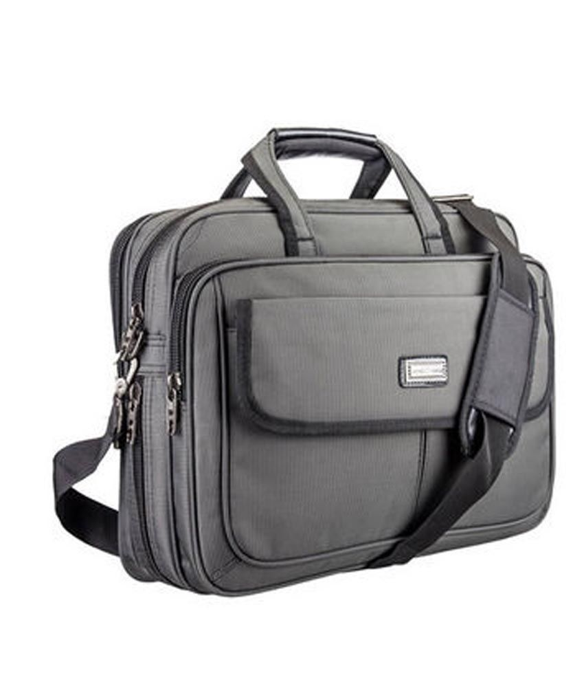 Novex FBLining Black Polyester Office Bag