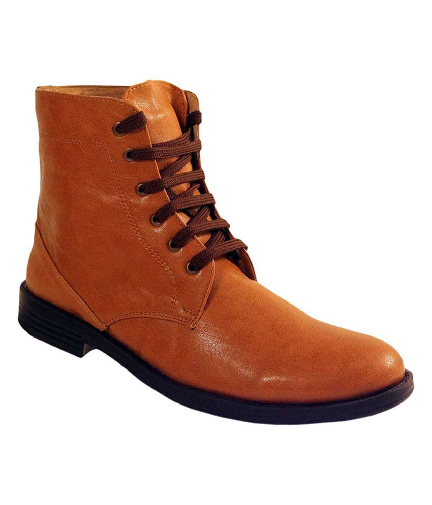Aristarchus Synapse Tan Boots