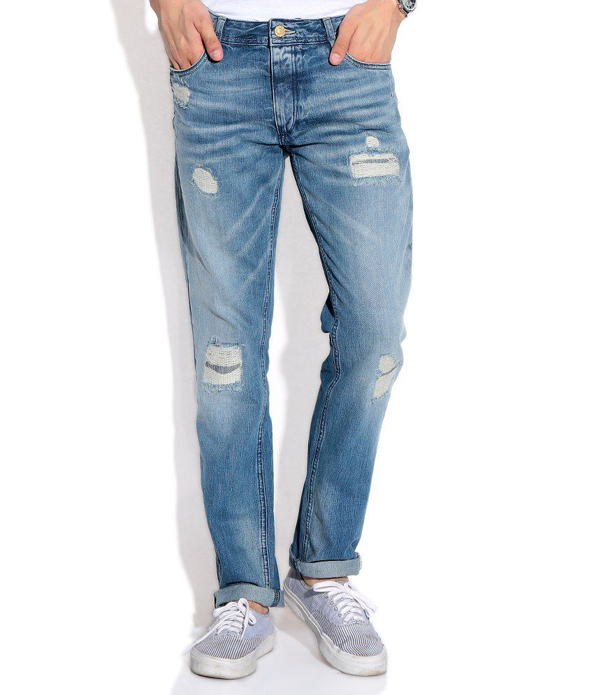 Jack & Jones Blue Slim  Jeans