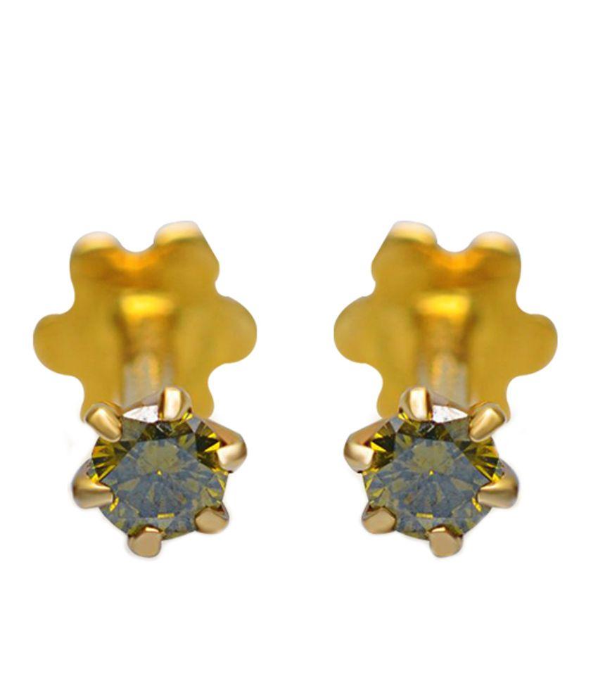 Jacknjewel Belle Contemporary Diamond Earrings