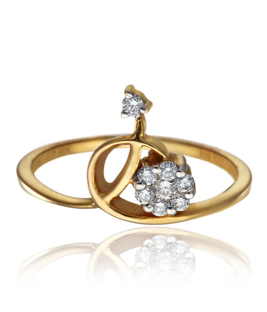 Kays Jewels 18kt Gold Diamond Ring