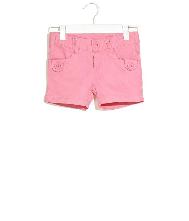 Dreamszone Dark Pink Preppy Happy Shorts