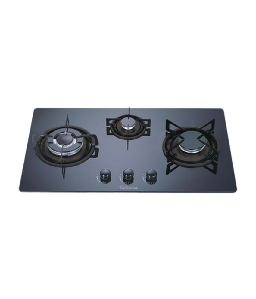 Gilma-GST-3B-Auto-Ignition-Gas-Hob-(3-Burner)