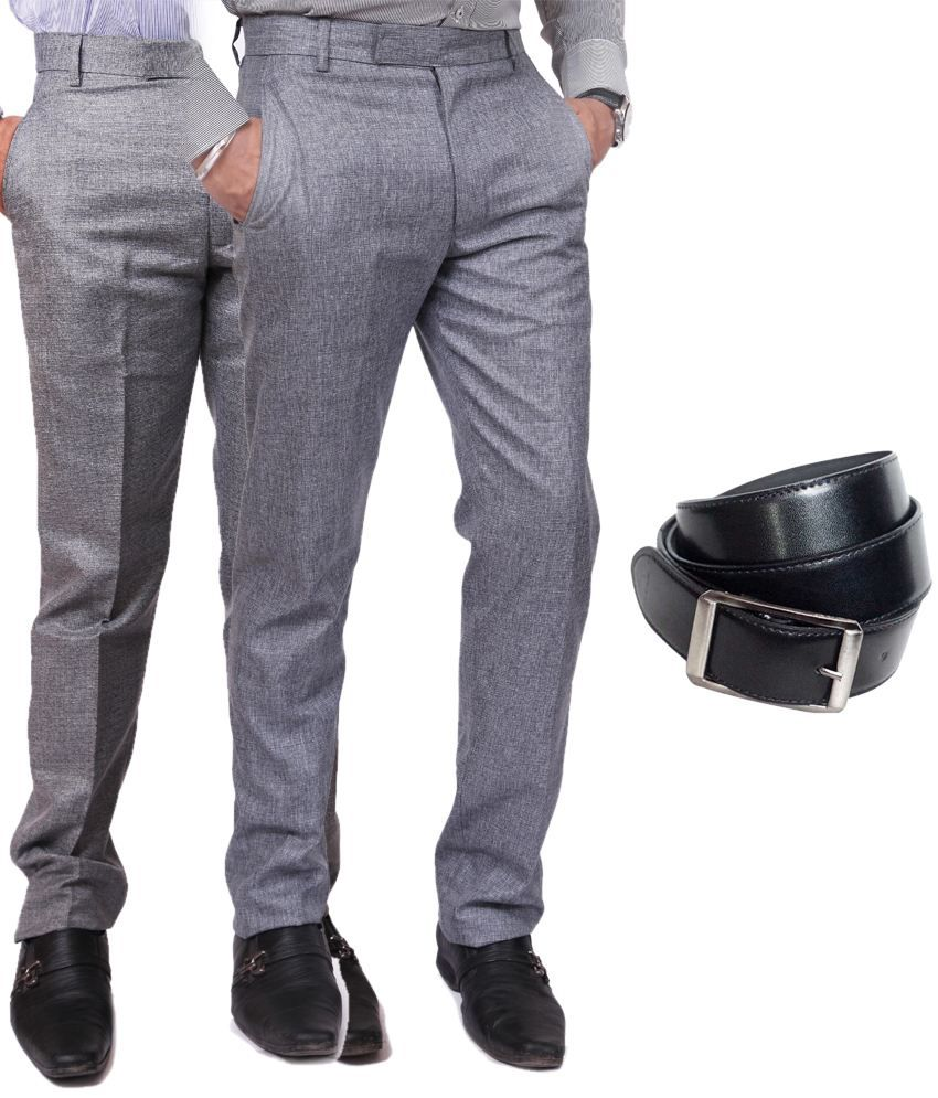 Coaster Gray Comfort Formals Combo Of 2