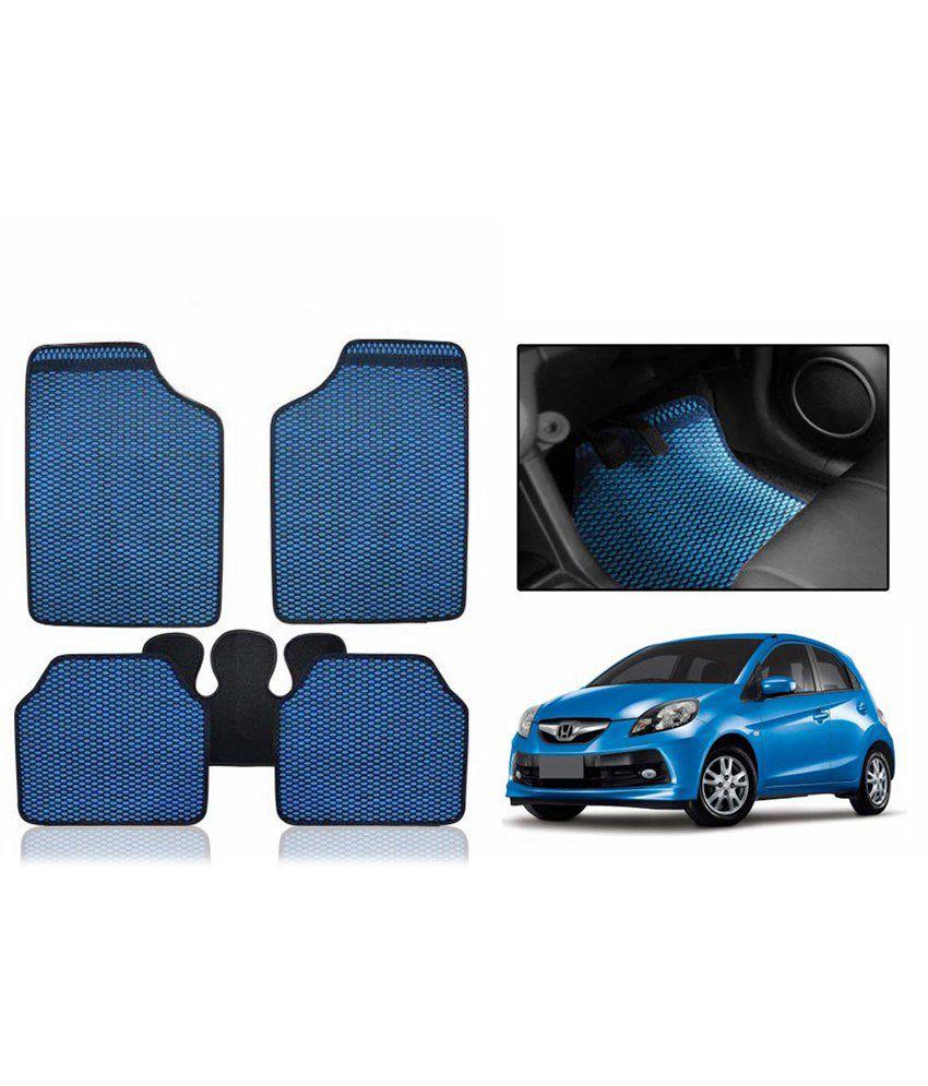 Speedwav Odourless Car Blue Floor Mat Set Of 5