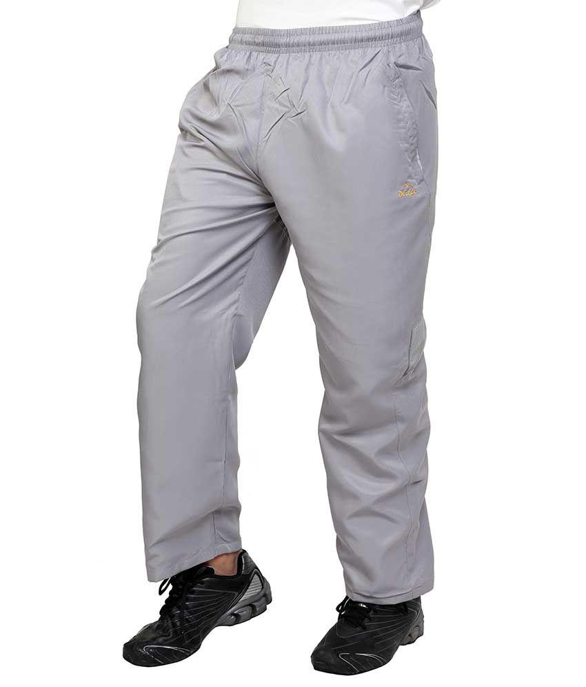 Dida  Gray Polyester Trackpant